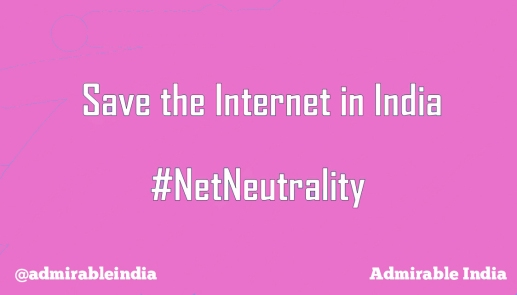 save the internet admirable india