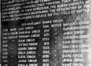 21 sikhs of Saragarhi battle admirable india