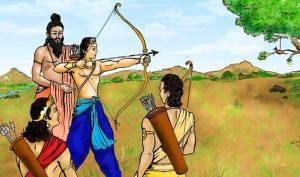 arjuna-dronacharya mahabharat