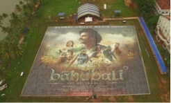 bahubali poster guiness world record