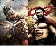 imdb ranking of 300 and bahubali