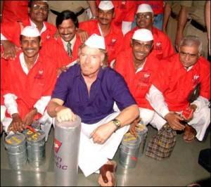 Richard-Branson-Dabbawalas