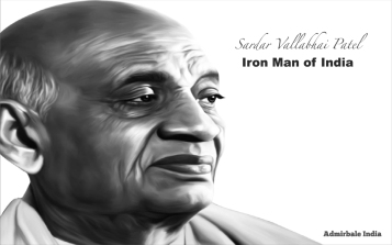 sardar patel admirable india