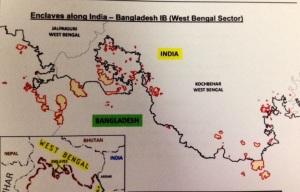 india bangladesh map