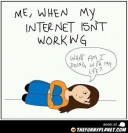 net isn't working